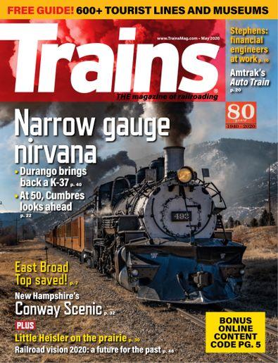 Trains digital cover