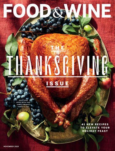 Food & Wine digital cover