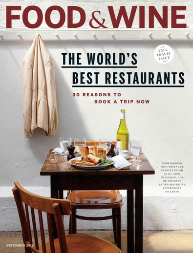 Food & Wine digital cover