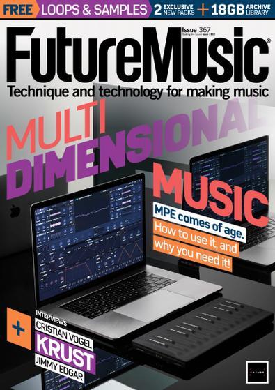 Future Music digital cover