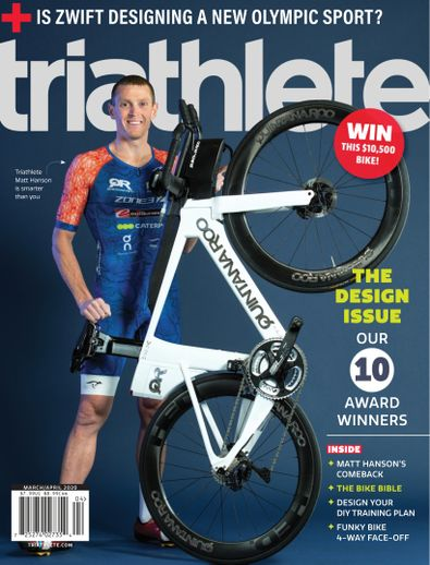 Triathlete digital cover