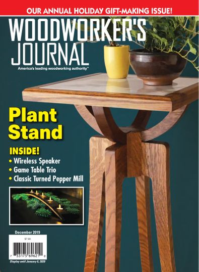 Woodworker's Journal digital cover