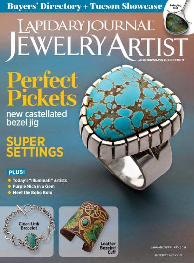 Lapidary Journal Jewelry Artist digital cover