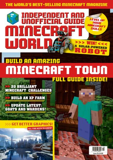 Minecraft World Magazine digital cover