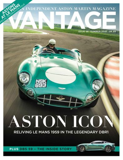 Vantage digital cover