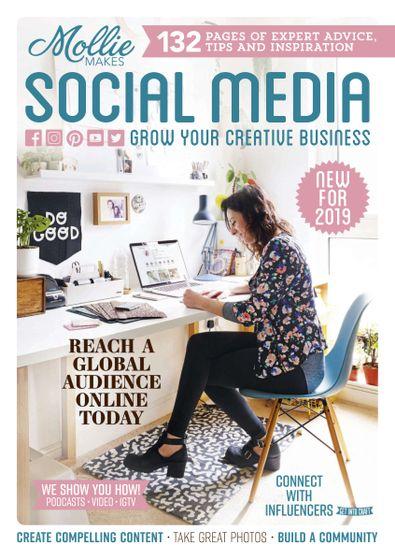 Mollie Makes Social Media digital cover