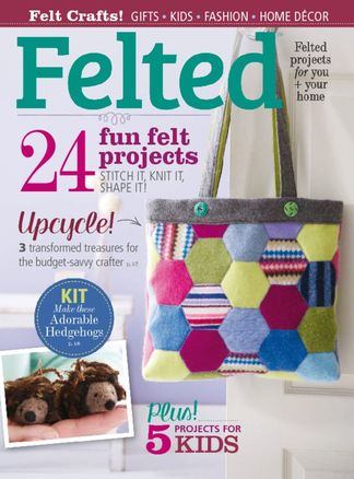 Felted digital cover