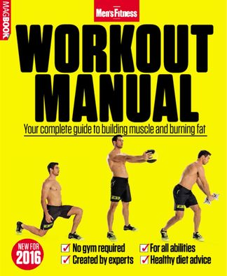Men's Fitness Workout Manual digital cover