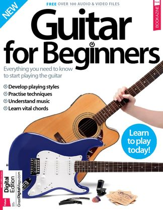 Guitar For Beginners digital cover