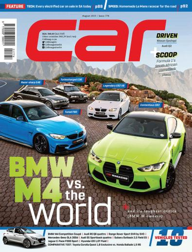 CAR digital cover