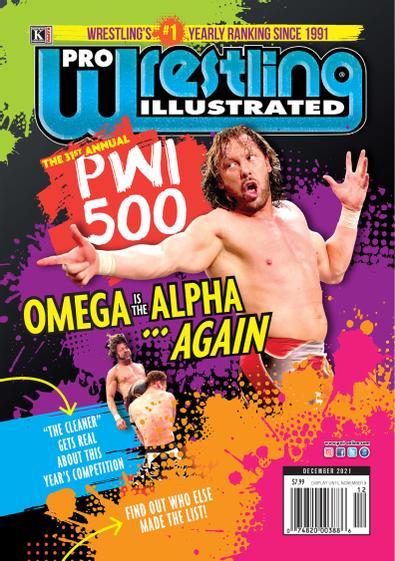 Pro Wrestling Illustrated digital cover
