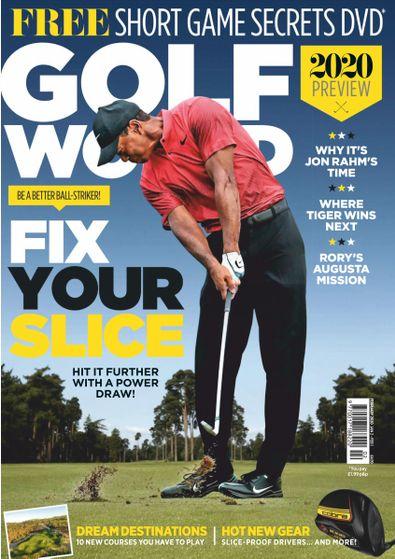 Golf World digital cover