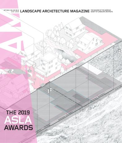 Landscape Architecture Magazine digital cover