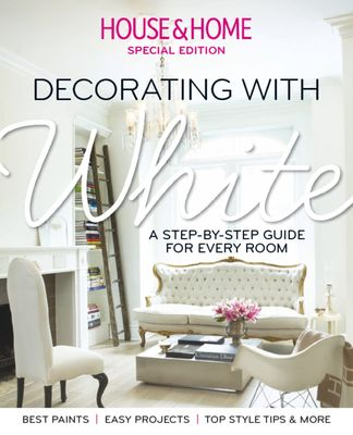 House & Home: Decorating with White digital cover