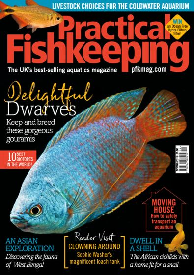 Practical Fishkeeping digital cover