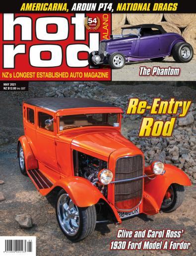 NZ Hot Rod digital cover