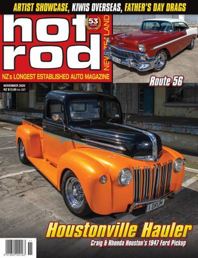 NZ Hot Rod digital cover
