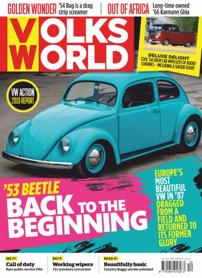 VolksWorld digital cover
