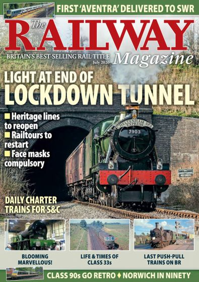 The Railway Magazine digital cover