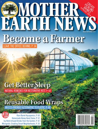 MOTHER EARTH NEWS digital cover