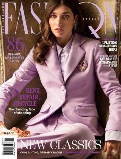 Fashion Quarterly digital cover
