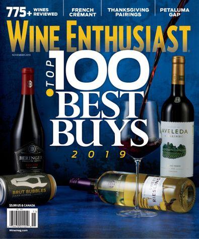 Wine Enthusiast Magazine digital cover