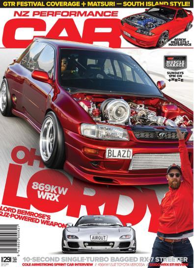 NZ Performance Car digital cover