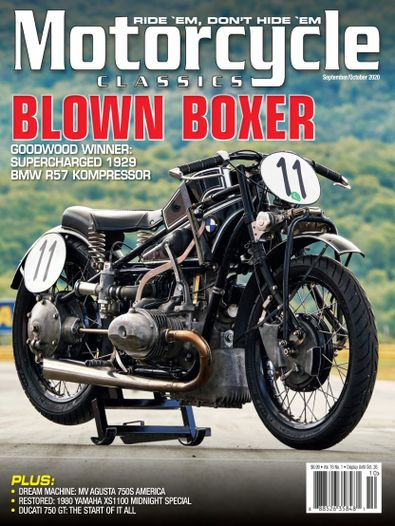 Motorcycle Classics digital cover