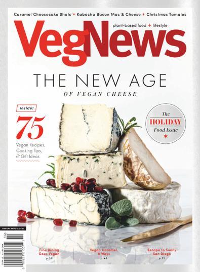 VegNews Magazine digital cover