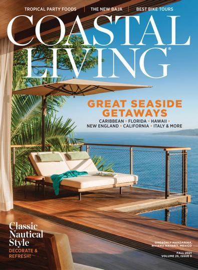 Coastal Living digital cover