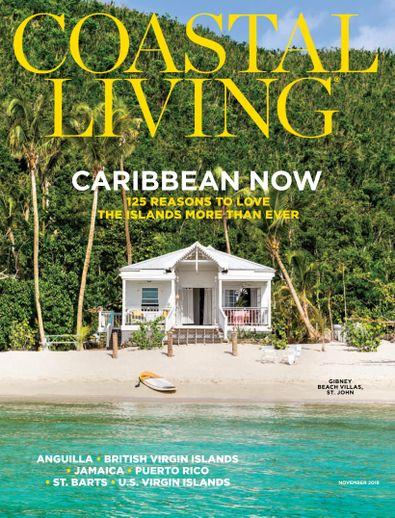 Coastal Living digital cover