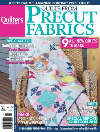 Quilts from Precut Fabrics digital cover