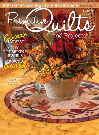 Primitive Quilts and Projects Magazine digital cover