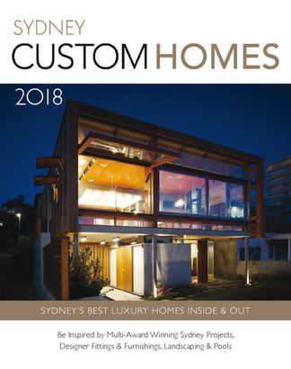 Sydney Custom Homes digital cover