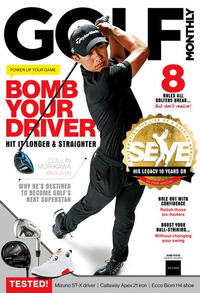 Golf Monthly digital cover