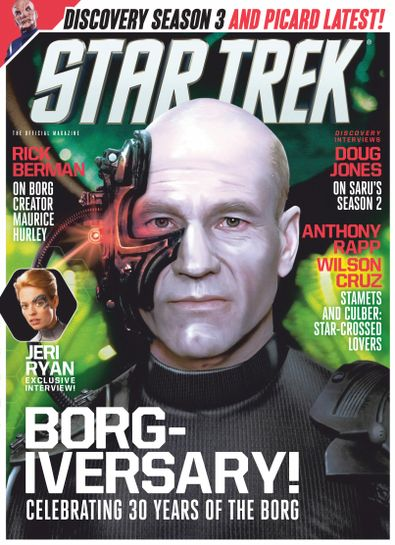 Star Trek Magazine digital cover