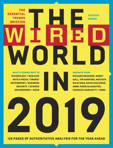 The Wired World digital cover