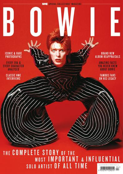 David Bowie digital cover