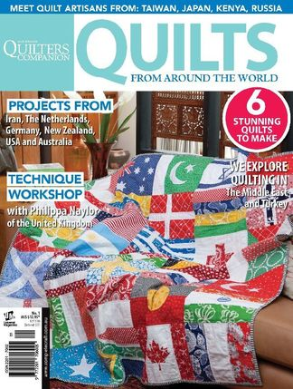 Quilts From Around The World digital cover