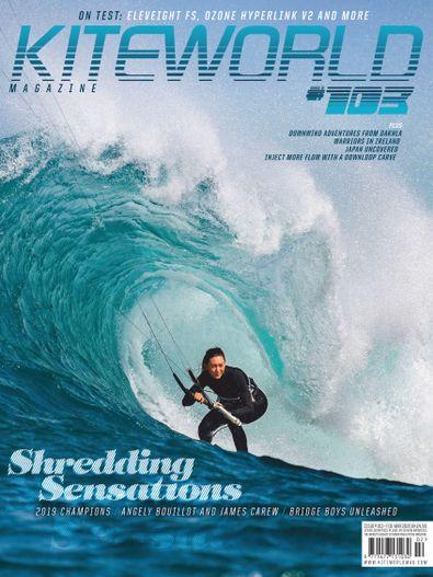 Kiteworld Magazine digital cover