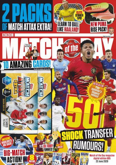 Match of the Day Magazine digital cover