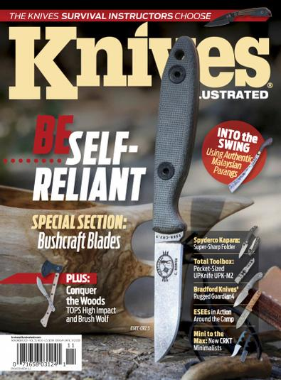 Knives Illustrated digital cover