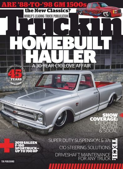 Truckin digital cover