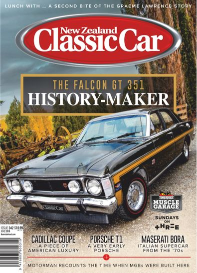 NZ Classic Car digital cover