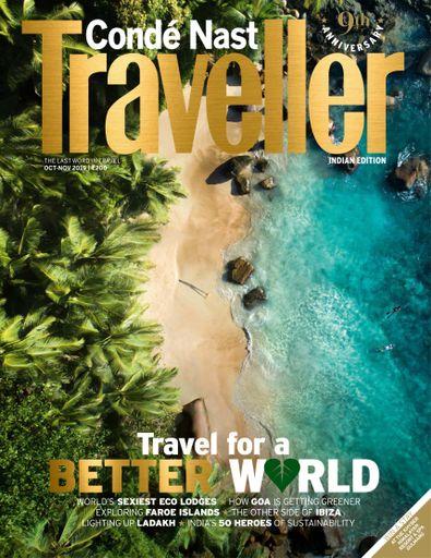 Conde Nast Traveller India digital cover