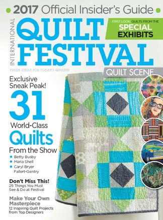 International Quilt Festival: Quilt Scene digital cover