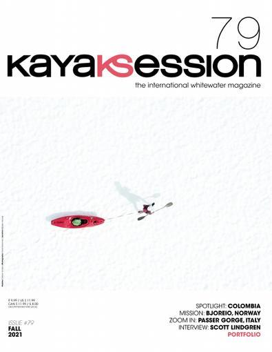 Kayak Session Magazine digital cover