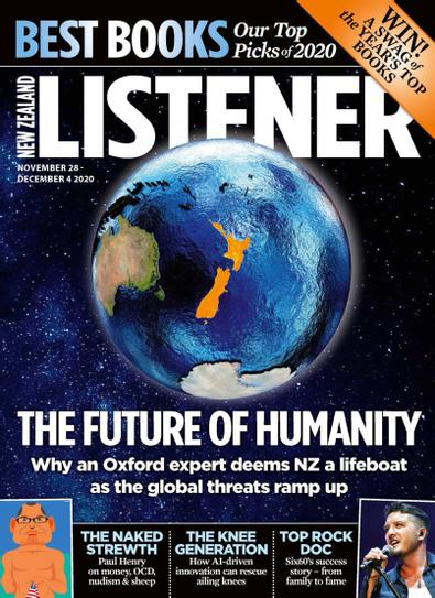 New Zealand Listener digital cover