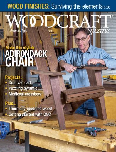 Woodcraft Magazine digital cover