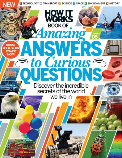 How It Works: Amazing Answers to Curious Questions digital cover